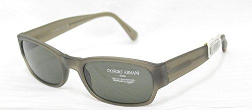 Sonnenbrille Giorgio Armani GA 2502090S grau satiniert Gläser mit Anti-Innenraum 100% UV Block Sunglasses