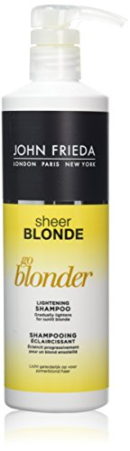 JOHN FRIEDA Sheer Blonde Go Blonder Shampooing Éclaircissant 500 ml