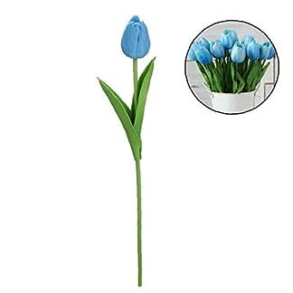 Beito Hermoso Mini Artificial Tulipanes Táctiles del Verdadero Flores De La Boda Disposición Bouquetfor Inicio Sala De La Pieza Central De La Decoración