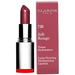Clarins Joli Rouge (Long Wearing Pintalabios Hidratante)–# 736rosa camelia 3,5G/0.1oz