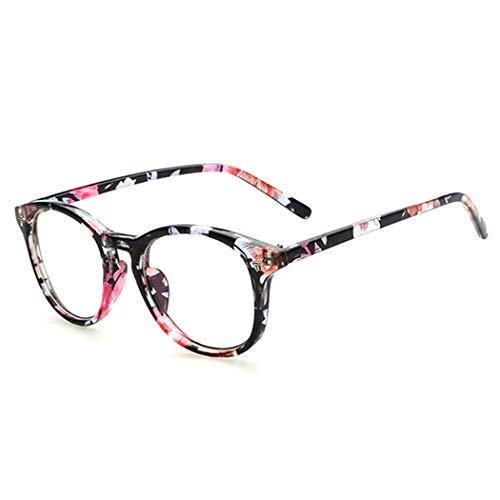 Wagonste - New Retro Clear Glasses Frame Women Men Retro Lens Glasses New Vintage Fashion Fake Glasses Ladies Eyeglasses Eyewear [ Type 1 ]