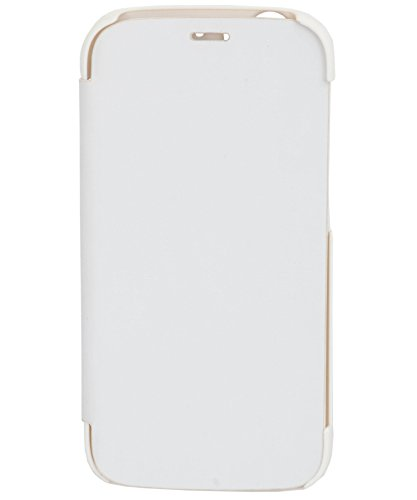 iCandy™ Synthetic Leather Flip Cover For Micromax Canvas Turbo A250 - WHITE  available at amazon for Rs.175