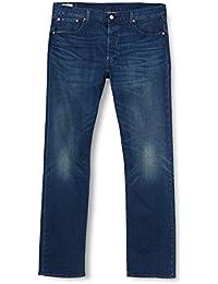 Levi's Uomo 501 Jeans Originali, Blu