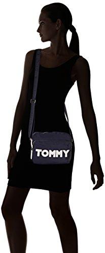 Tommy Hilfiger - Tommy Nylon Crossover, Borse a tracolla Donna Blu (Tommy Navy)