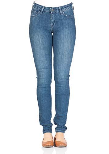 Lee Damen Jeans Scarlett - Skinny Fit - Blau - Average Joe, Größe:W 27 L 35, Farbe:Average Joe (HACO) - Joes Relaxed Fit Jeans