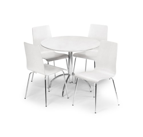 Julian Bowen Mandy Dining Table, White