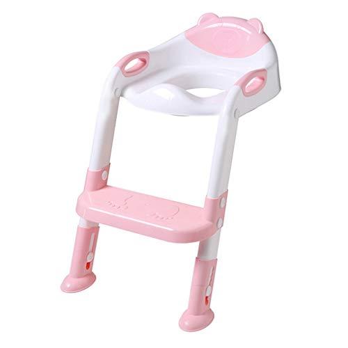 Pageantry Töpfchen Toilettensitz Kleinkind Wc Trainer Stuhl Mit Trittleiter rutschfest Für Jungen Mädchen Faltbarer Töpfchen Toilettensitz (Töpfchen Stuhl Griffe)