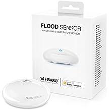 Fibaro - sensore per acqua Apple HomeKit, 1pezzo, FIB_FGBHFS-101