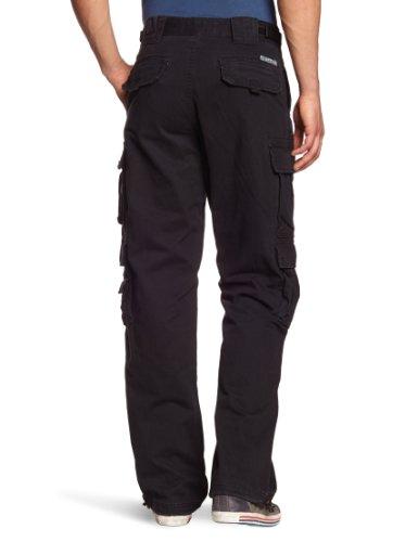 JET LAG Homme Cargo Style Pantalon 007 Black