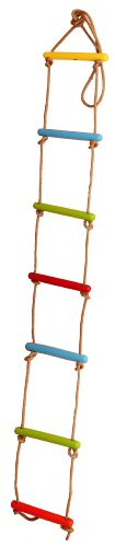 Skillofun Wooden Rope Ladder (7 String)