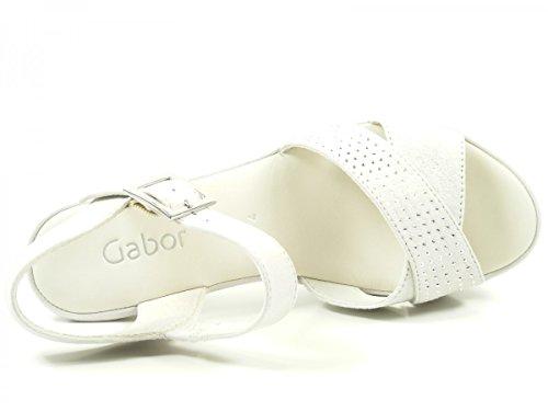 Gabor, Damen Sandalette, 65.752.11 - Caruso Ice Grau