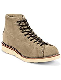 Chippewa 1901M36 Herren Leder Boots braun, Sand Suede mit Poron  Einlegesohle-Vibram Christy Kreppkeiksohle 9f693c40e4