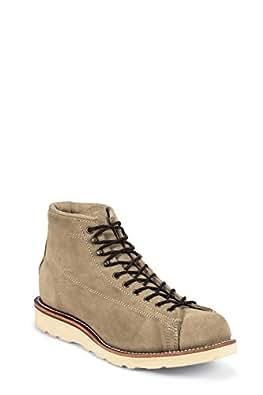 Chippewa 1901M36 bottes homme en cuir marron, sable et suede poron en christy kreppkeiksohle semelle vibram - Marron - Marron, 8,5US-41,5 EU EU