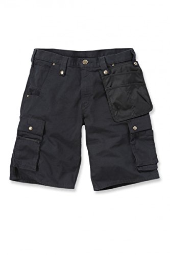 Carhartt .102361.001.s536Multi Pocket Ripstop kurz, schwarz, B36 (Schwarz Carhartt Handschuh)