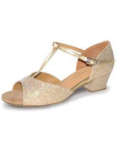 StaceyC-Chaussures de danses de salon Argent