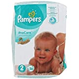 Pampers ProCare Premium Protection 36 Couches Taille 2 (3-6 kg)