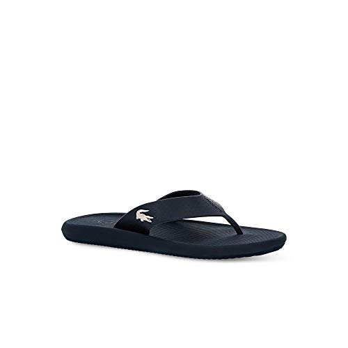 Lacoste Herren Croco Sandal 219 1 CMA Sneaker, Blau (Navy/White 092), 43 EU