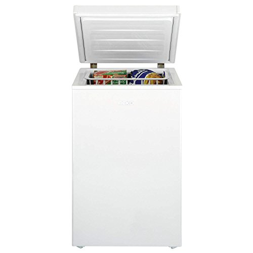 31CTucPUe3L. SS500  - Beko CF374Freestanding Horizontal 104L A+ Rated White Chest Freezer