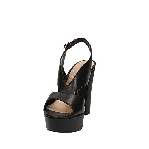 Bruno premi K2505N Sandalo tacco Donna Nero