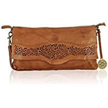 KOMPANERO Cognac Ladies Sling bag (Ashley)