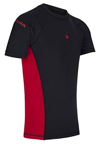 Candish WR10R Kompressionsshirt, kurzärmelig, Lycra Mehrfarbig - Schwarz