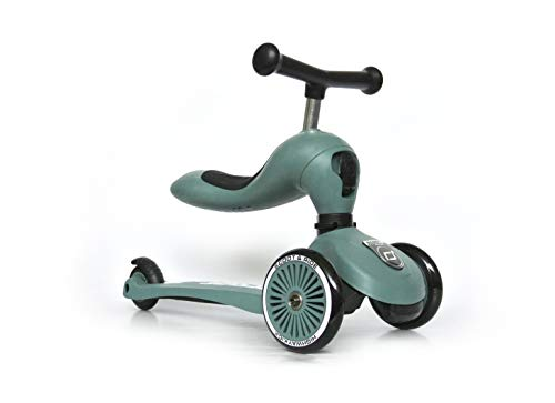 Scoot & Ride - Highwaykick 1 - Forest - Scooter mit sitz