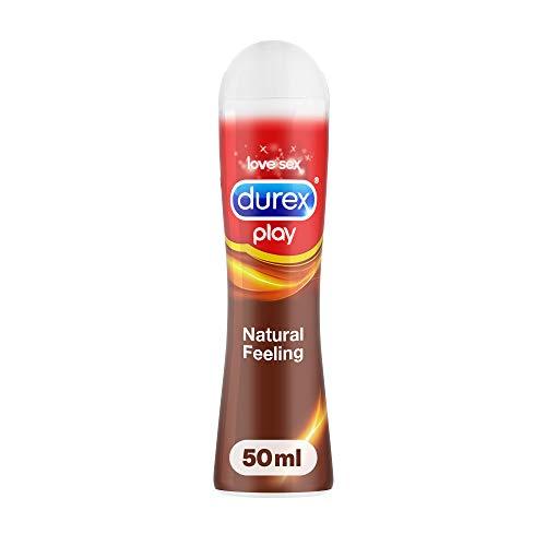 Durex Natural Feeling Gleit- und Erlebnisgel auf Silikonbasis, für ein natürliches Gefühl, 1er Pack (1 x 50 ml)