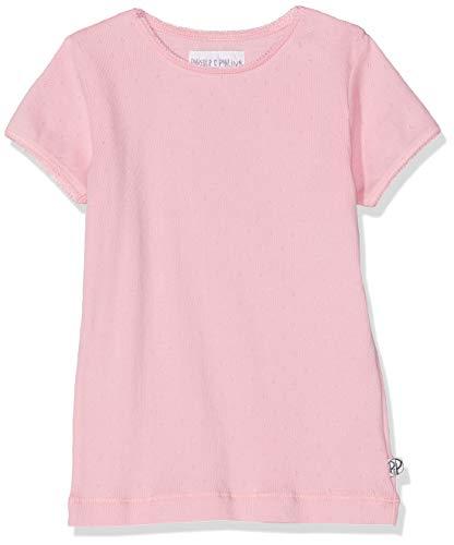 Girls Pointelle (Phister & Philina Mädchen Giselle Pointelle T-Shirt, Mehrfarbig (Prism Pink Pri), 128)