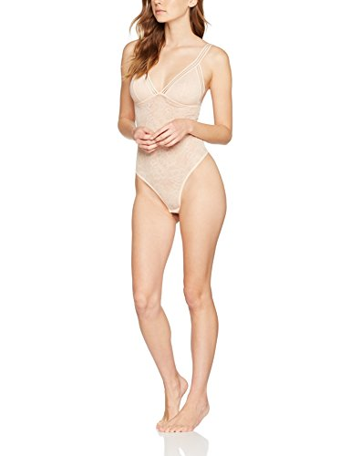 Iris & Lilly Body in Pizzo Graphic Sexy Donna Beige (Champaign)