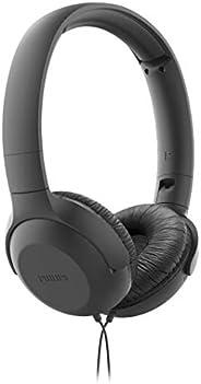 Philips TAUH201BK/00 Kulaküstü Kablolu Kulaklık, Siyah