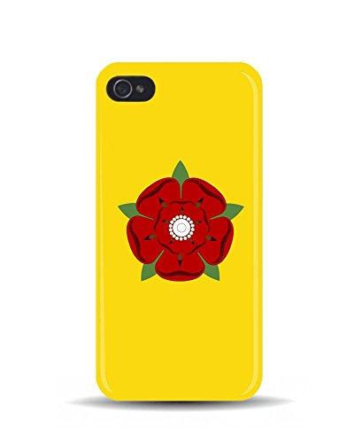iPhone 5/5S Drapeau Lancashire rose 3D Coque téléphone portable