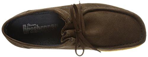 Sioux Grashopper - Herrenschuhe Sneaker / Schnürschuh, Braun, kalbvelours ( leder ) Fango