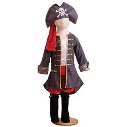 Disfraz de capitán pirata para niño, (6 años)