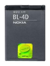 Nokia BATNOBL4D Akku für BL4D / N97 / Mini E5 / E7-00 / N8-00 / N97 / N8 / 7500 / Prism 2660/2760 / 7373/5000 / 2630 Mini N97 Handy