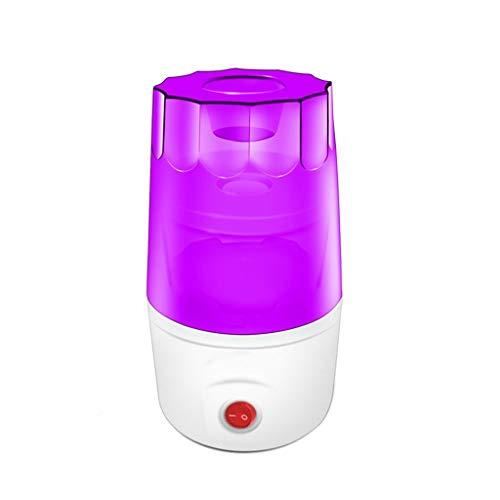 Saand automatico manipolazione con un solo pulsante fodera in vetro macchina per yogurt a piccola capacità fatta in casa (colore: viola)