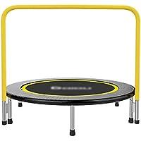 48-Zoll-Trampolin mit Griff, sicherer Gummiband-Fitness-Trainer für Kinder oder Erwachsene preisvergleich bei fajdalomcsillapitas.eu