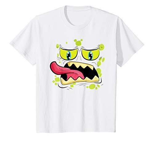 Kinder Monster Face Geschenk für Kinder Kostüm Geschenk T-Shirt