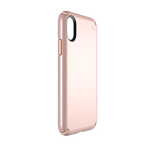 Speck 103135-6597  Presidio Schutzhülle für Apple iPhone X rose-gold metallic/dahlia-peach Rose Gold Metallic/Dahlia Peach