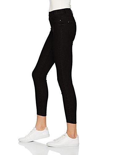 New Look Damen Skinny Jeans Schwarz