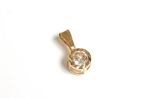 or-9-ct-oxyde-de-zirconium-coupe-diamant-pendentif-rond-sans-chaine