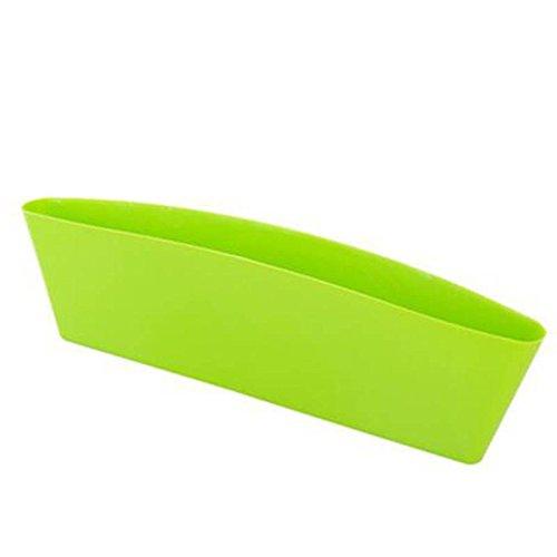 Sedeta® siège arrière de voiture Gap voiture Slit Pocket Catcher Organisateur Boîte de rangement Accessoires support plastique pour les voitures célèbres SUV vert