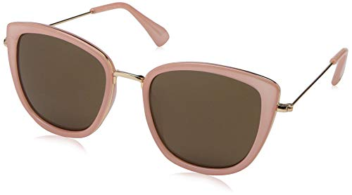 Lucky Women's Trinity Square Sunglasses Blush 54 mm