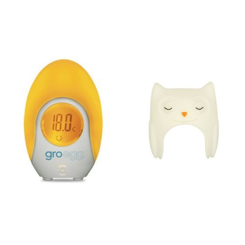 The Gro Company Gro-Egg Room Thermometer with Oona the Owl Shell