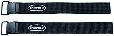 Therm-ic Zubehör Thermic Velcro Strap 1 pair, black, T01-2100-004