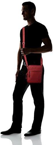 a Uomo Access Homme Biking Red spalla Borsa Lacoste Rosso Sac Basic CnF0xqOpXw