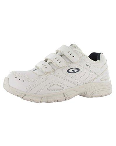 - Tec-Kinder XT115Klettverschluss Schuhe Weiß