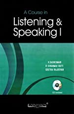 A Course in Listening and Speaking I with CD, General Edition