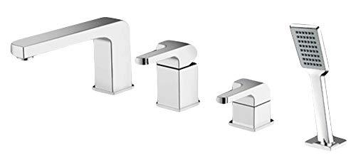 Premium Wannenarmatur Armatur Badewannenarmatur Mischbatterie Einhandmischer