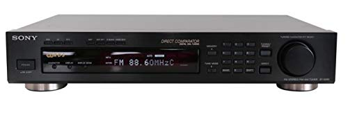 Sony ST-S 390 Stereo RDS Tuner in schwarz (Fm Sony Stereo Receiver Am)