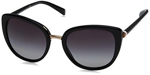 Bulgari Damen 0BV8177 501/8G 53 Sonnenbrille, Schwarz (Black/Gradient),